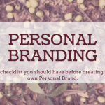 A beginner's guide to Personal Branding .